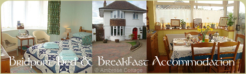 Bridport Bed & Breakfast Montage