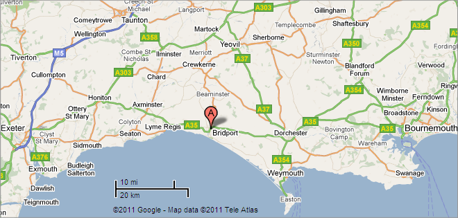Location Map - West Country